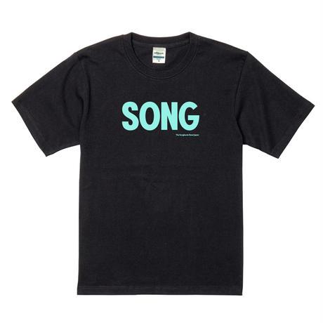 """SONG""Tシャツ[ブラック]"