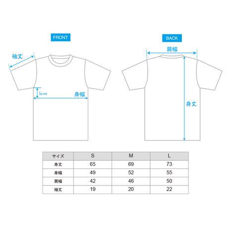 刺繍Tシャツ[ネイビー]