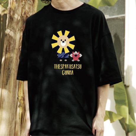 ビッグシルエットTシャツ(ブラック)