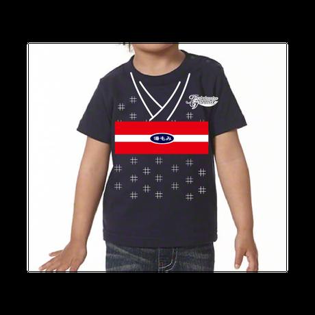 KIDS 湯もみTシャツ(ネイビー)