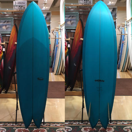 "【THOMAS BEXSON】Long Fish 6'8"""