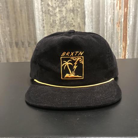 【BRIXTON】STRANDED HP CAP  BLACK(ブラック)