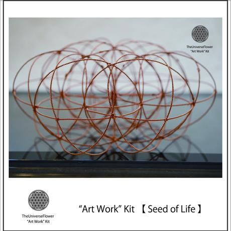 """3D Art Work"" Kit  【 Seed of Life 】"