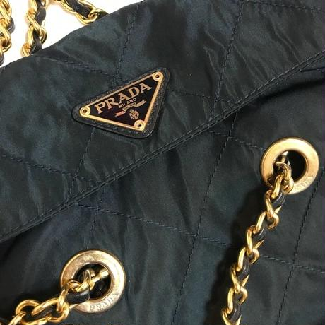 Vintage Prada chain bag