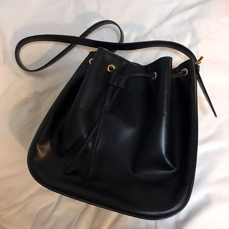 vintage celine shoulder bag - black