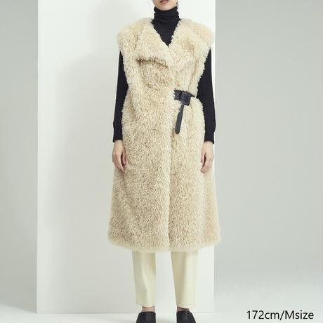 Curly Eco Fur Vest