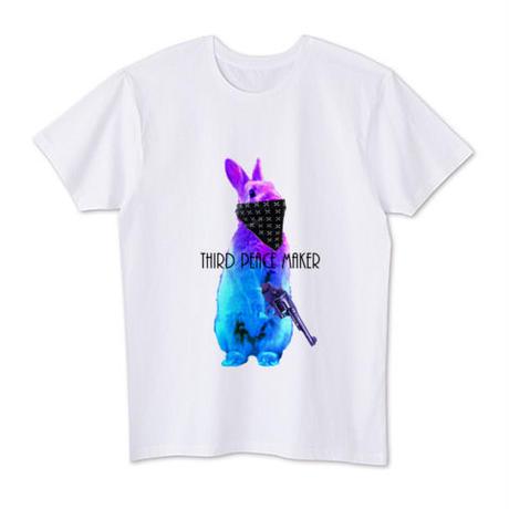 Thug life rabbit  シンプルver. Tシャツ