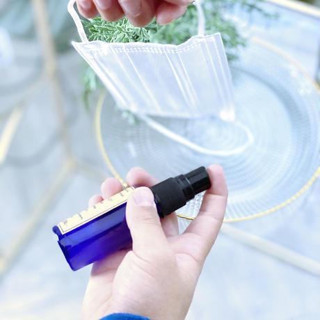 夏用マスクスプレー!ペパーミントで清潔に♪ウィルス対策and素粒水マイナスイオンと天然アロマ5種のブレンド