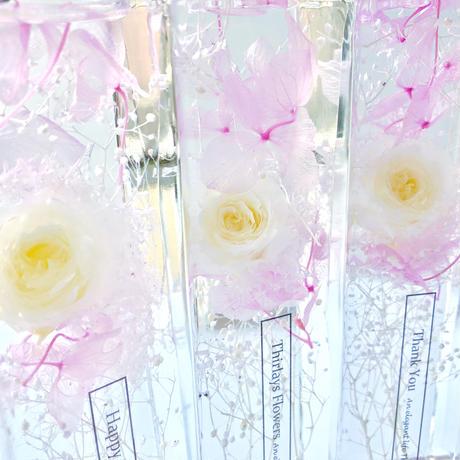 White Rose elegant ハーバリウム