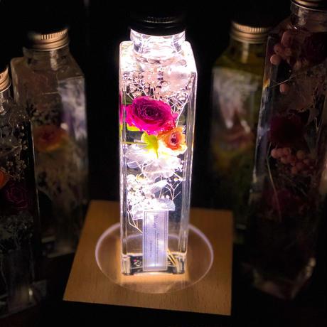 PINK rose 〜ハーバリウム〜ラグジュアリー  Mサイズ