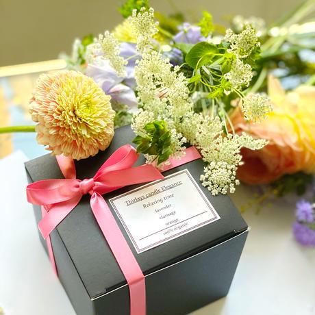 【Beauty time】美しき地球のオーガニック贅沢ブレンドアロマsoy candle〜サステナブルcandles〜