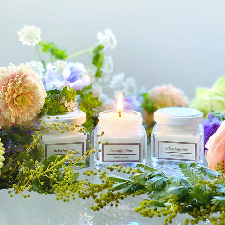 【3個セット】なりたい気分で毎日灯す最高品質オーガニックアロマブレンド 3種の香り
