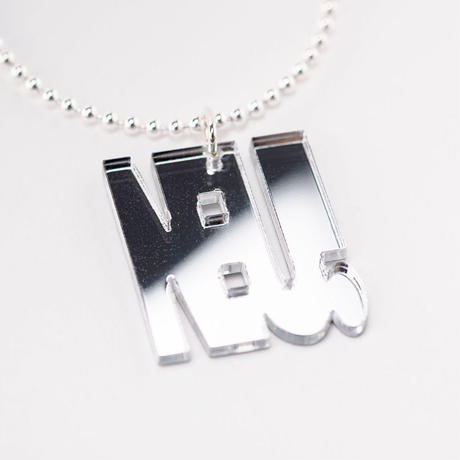 """NEU!"" necklace"