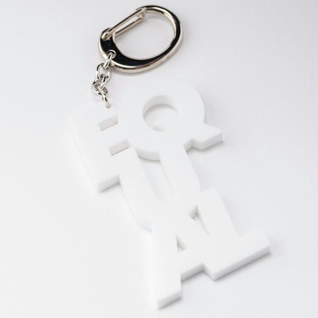 """EQUAL"" key ring"