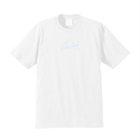 ウサギロゴTシャツ [White]