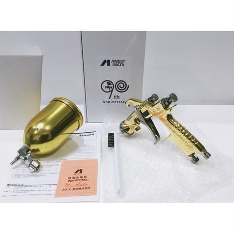 アネスト岩田 スプレーガン  W-101-138BG-S90《カップ付き》 90周年記念  数量限定品  極み アニバーサリーモデル  kiwami