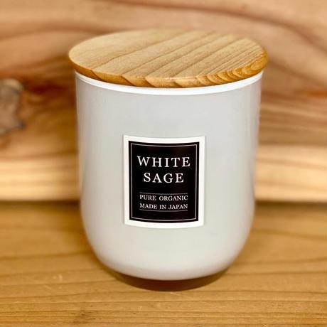 【オーガニック100%】国産ホワイトセージ オーガニックソイキャンドル 各種