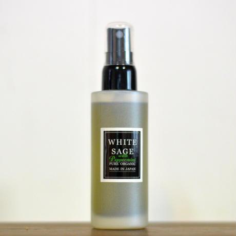 【オーガニック100%】国産ホワイトセージ ホワイトセージスプレー  50ml 各種