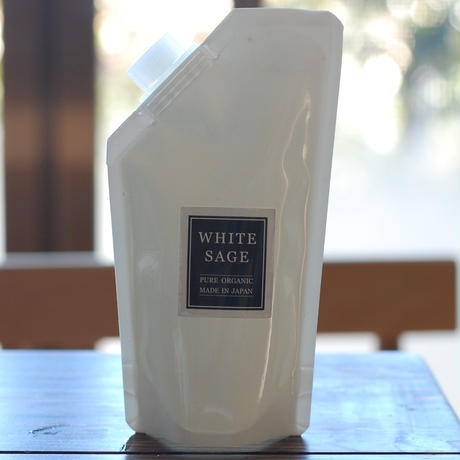 自然栽培ホワイトセージ アロマスプレー(浄化スプレー) 250ml 詰め替え用