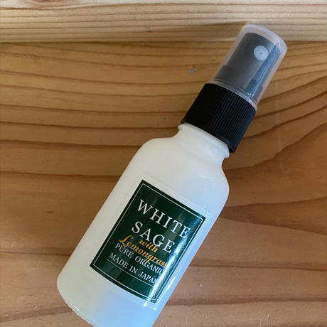 【国産ホワイトセージ】 ホワイトセージスプレー 100ml  8種類の香りから選べる!!