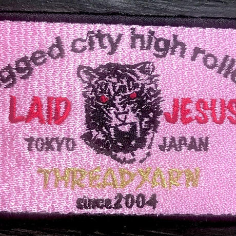 """threadyarn  """"LAID JESUS"""" WAPPEN (DEAD STOCK)"""
