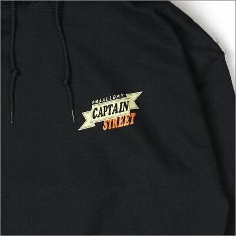 【CAPTAIN STREET】BG P/Oパーカー BLACK Lサイズ
