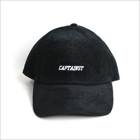 【CAPTAIN STREET】DL コーデュロイキャップ BLACK