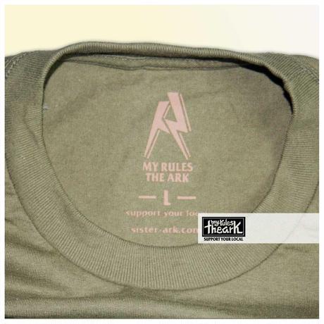 """【ARK】ARK """"SKULL""""Tシャツ Lサイズ"""