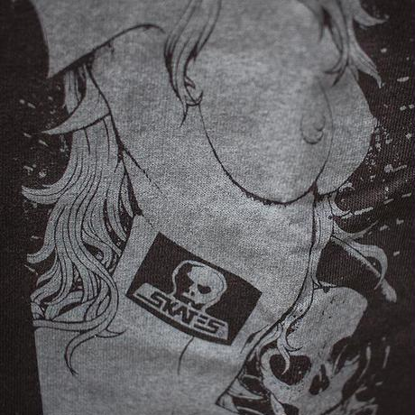 【SKULL SKATES】BA.KU. BRIDE OF DEERMAN Tシャツ