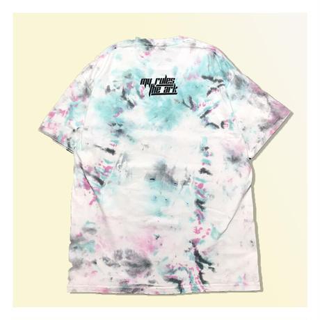【ARK】ARK 『Sticker』 Tシャツ  タイダイ Ver