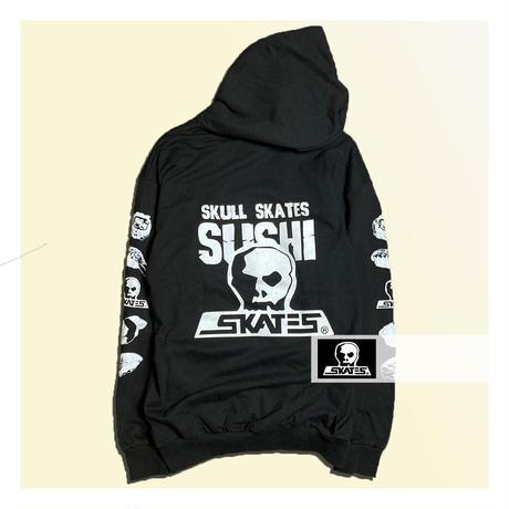 【SKULL SKATES】SUSHI フードパーカー