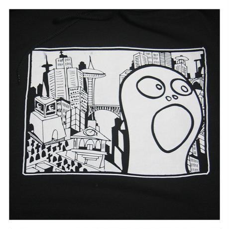 【SKULL SKATES】 MUTANT CITY フードスウェット