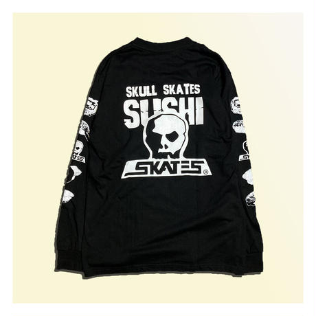【SKULL SKATES】SKULL SKATES  SUSHI ロングスリーブ