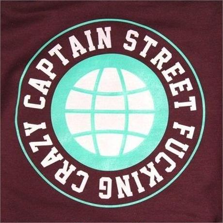 【CAPTAIN STREET】 FC P/Oパーカー BURGUNDY XLサイズ