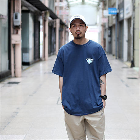 【CAPTAIN STREET】 Diamond Tシャツ BLUE DUSK XLサイズ