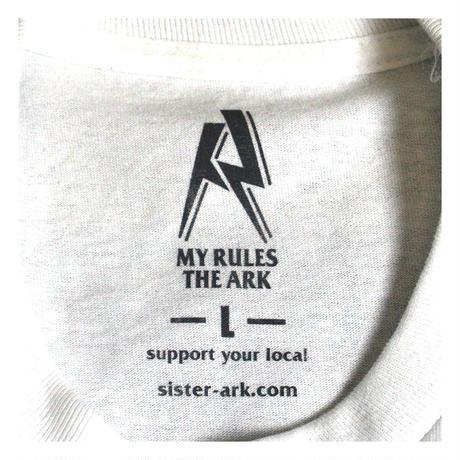 【ARK】ARK 『 カルフォルニア』 Tシャツ Whiteボディ Lサイズのみ