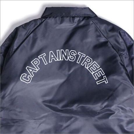 【CAPTAIN STREET】CAPTAIN STREET Arch 裏ボアコーチJKT NAVY