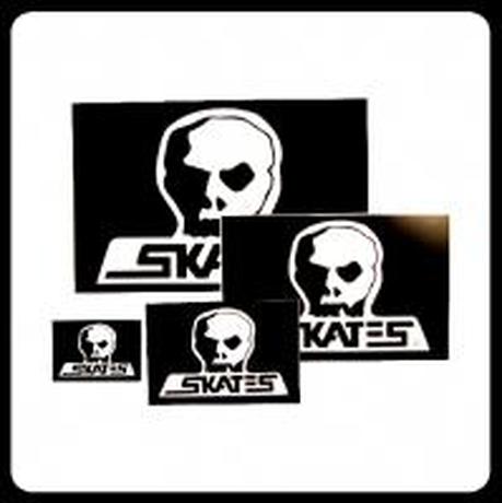 【SKULL SKATES】OGロゴステッカー XLサイズ