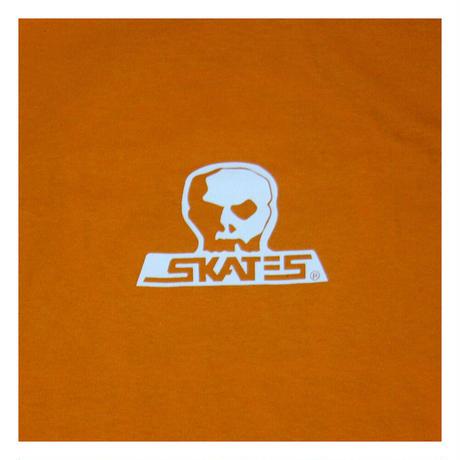 【SKULL SKATES】 Creamsicle(オレンジxホワイト)限定カラー ロングスリーブ