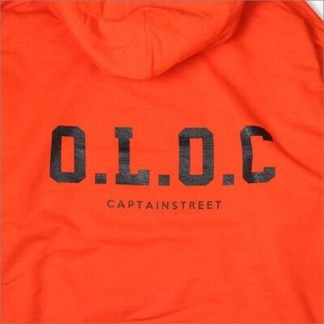 【CAPTAIN STREET】O.L.O.C P/Oパーカー ORANGE Lサイズ