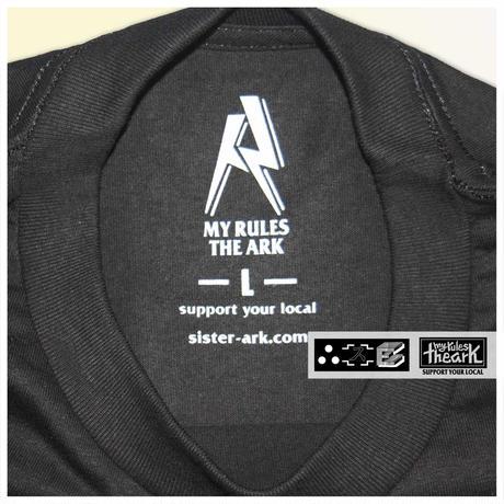 【ARK】ARK x SS/S ダブルネームTシャツ