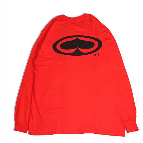 【SRH】OG L/S Tシャツ RED