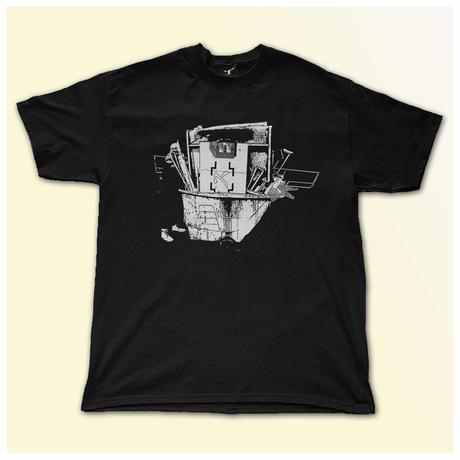 【SS/S Original】 Dust Tシャツ BLACK サイズXLのみ