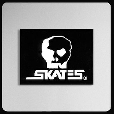 【SKULL SKATES】HORSE ロゴ ステッカー Mサイズ