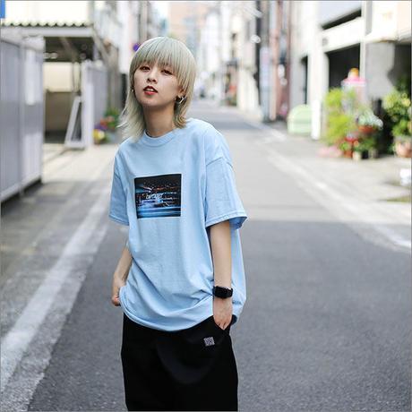 【CAPTAIN STREET】 KNK Tシャツ L.BLUE