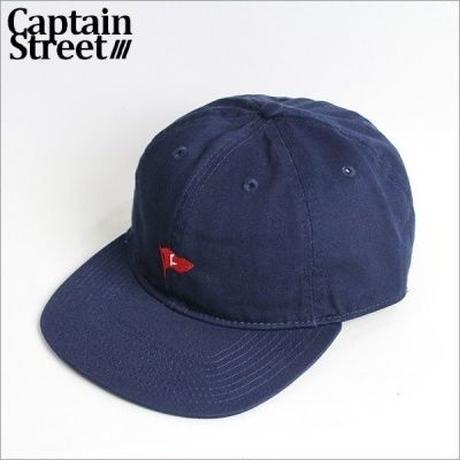 【CAPTAIN STREET】C Pennant アンストラクチャードキャップ NAVY