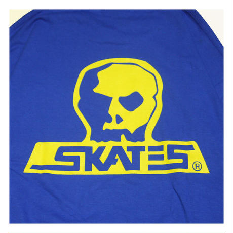 【SKULL SKATES】GT(ブルーxイエロー)限定カラー ロングスリーブ