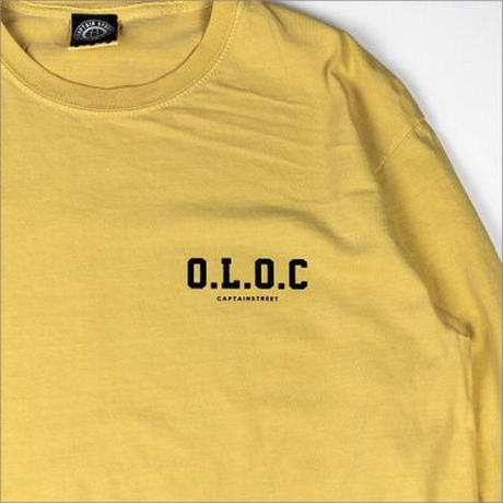 【CAPTAIN STREET】O.L.O.C L/S Tシャツ MUSTARD