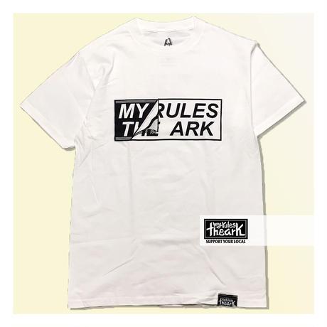 【ARK】ARK 『Sticker』 Tシャツ  White