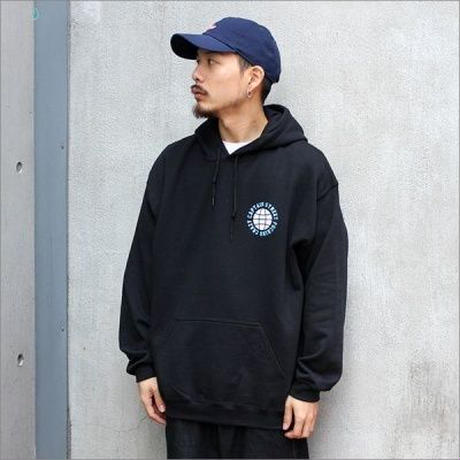 【CAPTAIN STREET】 FC P/Oパーカー BLACK